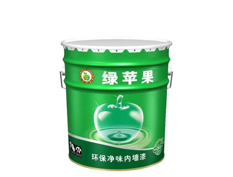 绿苹果环保净味内墙漆
